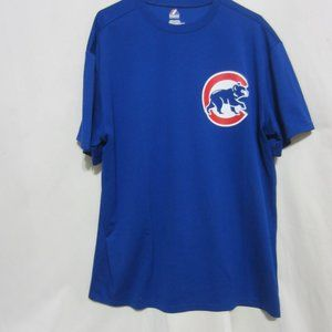 MENS CHICAGO CUB BLUE TEE WITH GRAPHIC, XL